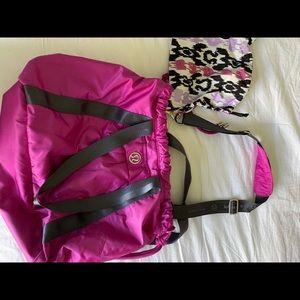 Lululemon Gym Bag with yoga mat holder